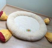 Уютный коврик для игры с младенцем фирмы ELC