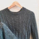 Платье / свитер вязаное