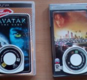 Продам 2 диска для PSP! Need for Speed Undercover