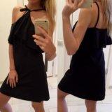 Платье чёрное вечернее новогоднее
