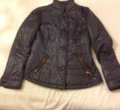 Куртка женская болоньевая на тонком р.42-44