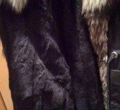 Пальто зимнее на меху, 44-46 рр