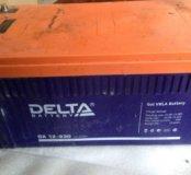 Гелиевый аккумулятор 230Ah
