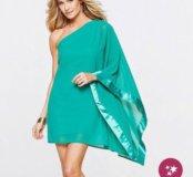 Размер L Платье бирюзового цвета (Новое)