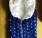 Зимнее одеяло-конверт для ребенка