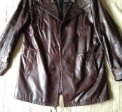 Куртка( кожаная, межсезонная)