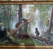 """Картина """"Утро в сосновом лесу"""""""