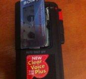 Диктофон сони Sony m470