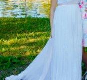 Свадебное платье заряжено на счастье!)