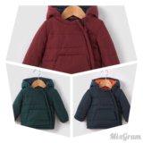 Куртка детская на флисовой подкладке, с 1 мес -3 л