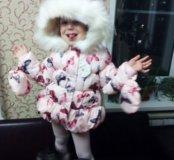 Куртка на девочку 3-4 года демисезон