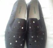 Туфли мужские летние,  кожаные,  46 размер, новые