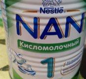 Сухая кисломолочная смесь с рождения Nan