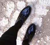 Ботинки лакированные