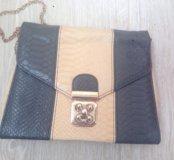 Стильная сумка на цепочке