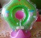 Горка +круг для купания