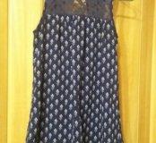 Платье-сарафан на девочку 10-11лет