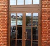 Алюминиевые фасады, двери