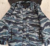 Зимний новый костюм-комуфляж