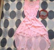 Легкое платье 42