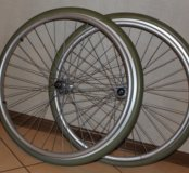 Колеса литые для инвалидной коляски 540x37