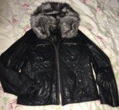 Кожаная куртка fani exclusive оригинал осень/зима