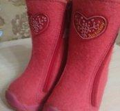 Зимняя обувь девочки