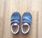 Ботиночки детские 26 размер, натуральна кожа.