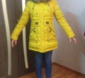 Зимняя куртка- парка 42-44 р-р