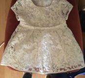 Нарядное или крестильное платье 62 из Италии