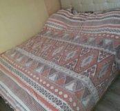 Двуспальная кровать. Без матраса.167 ширина