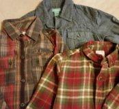 Рубашки на мальчика 18-24 М.