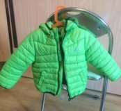 Куртка яркая на осень