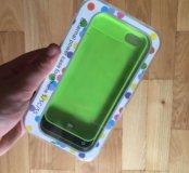 Чехол-зарядка для iPhone 5