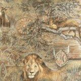Обои Rasch со львами, новые 3 рулона, 53см