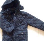 Тёплые детские куртки