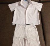 Шорты и рубашка 98-104