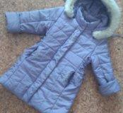 Куртка осенняя на девочку (110 см)