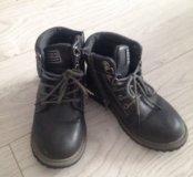 Осенние ботинки, для мальчика, р 30, нат кожа