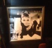 Картина на стену  с Одри