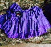 Новые с бирками топ и юбка для бальных танцев