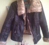Дубленка,куртка женская осень,зима