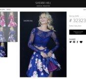 Платье Sherri Hill оригинальное, новое