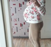 Для беременных ковта свитшот толстовка