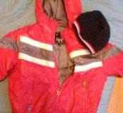 Куртка пуховик модная на осень