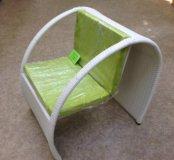 Кресло из искусств. ротанга