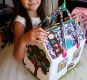 Сумка-домик для кукол
