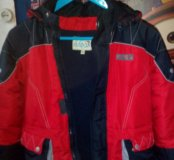 Куртка теплая на мальчика 6-7лет