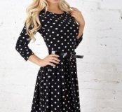 Шерстяное платье, новое, 46 р-ра