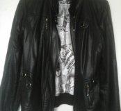 Куртка кожзам 46 р-р